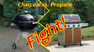 Charcoal vs Propane portable Grill