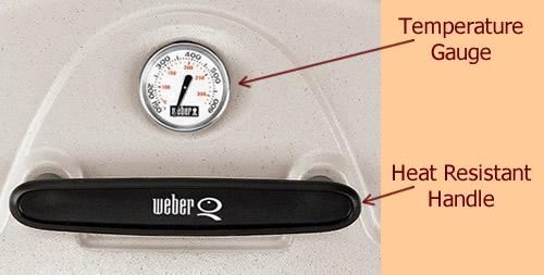 Temperature Gauge and Heat Resistant Handle
